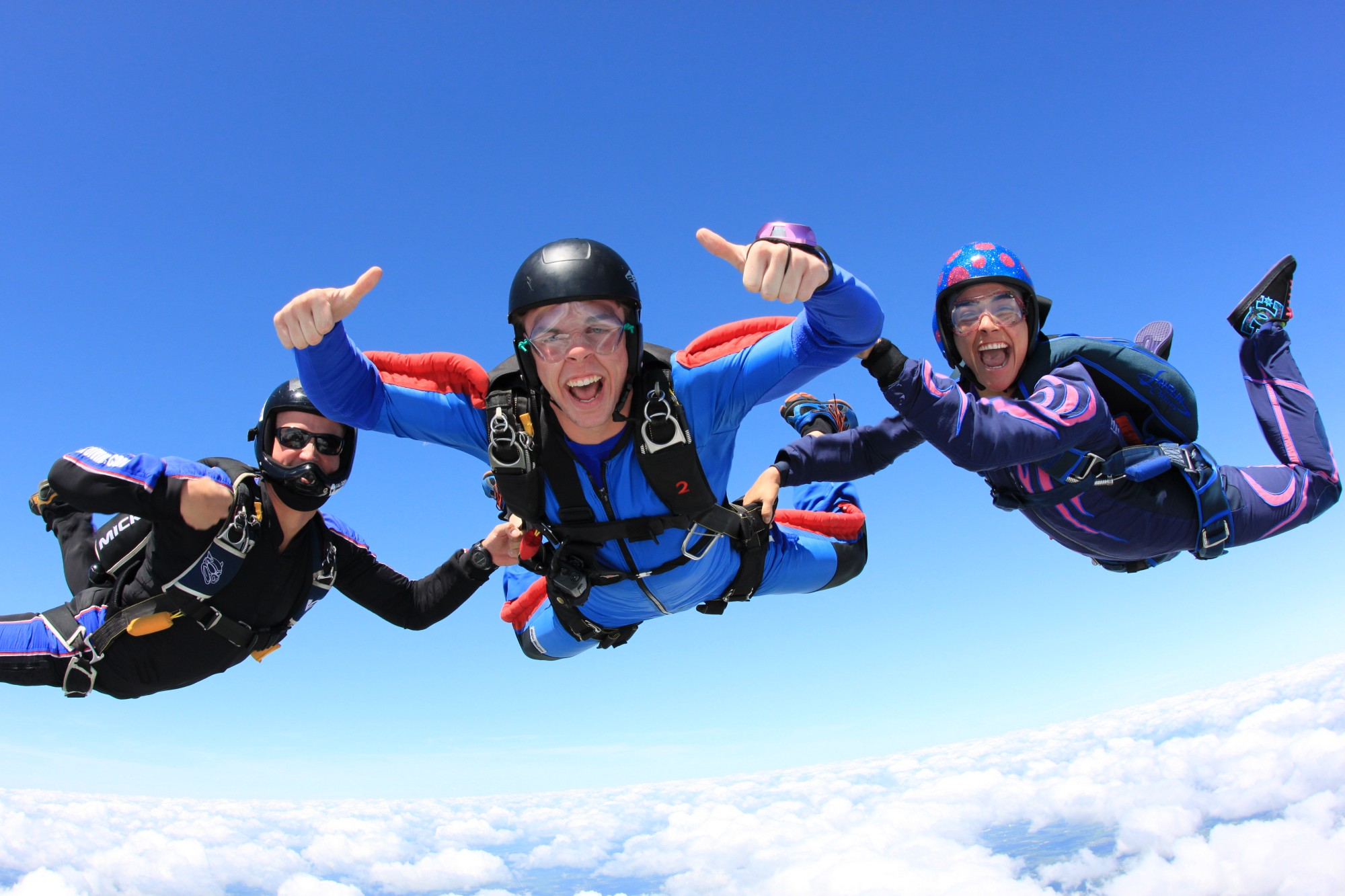 Skydiving is a profound and rare life experience